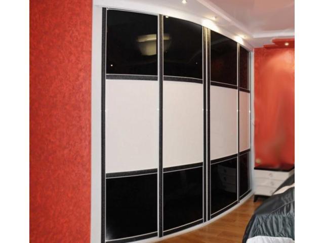 Радиусный шкаф-купе в рассрочку под заказ в Гомеле и Гомельской области
