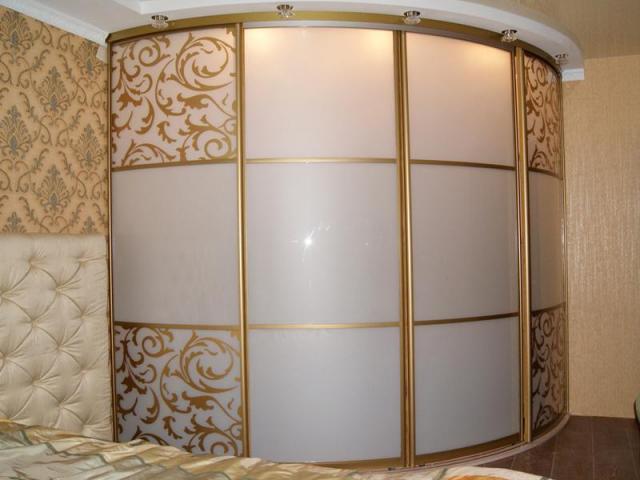 Радиусные шкафы-купе под заказ в Гомеле и Гомельской области, в рассрочку, дешево