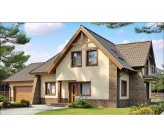 Цветовые решения фасадов, дизайн фасадов дома