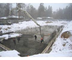 Купить бетон в Минске с доставкой. Аренда бетононасоса 2в1