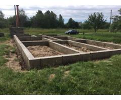 Фундамент для бани под ключ, Минск и область