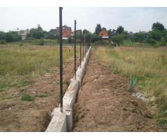 Фундамент под забор, Минск и Минская область