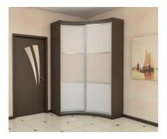 Полукруглый (шкаф волной) радиусный шкаф под заказ в Витебске и Витебской области