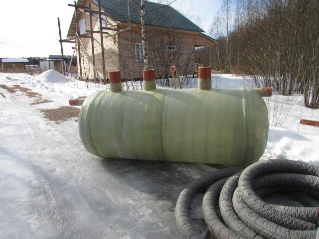 Монтаж пластиковой канализации (септик) под ключ