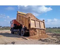 Доставка песка самосвалом в Минске и Минском районе (области)