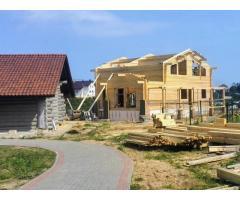 Сборка и отделка деревянных домов. Комплекс работ и услуг.