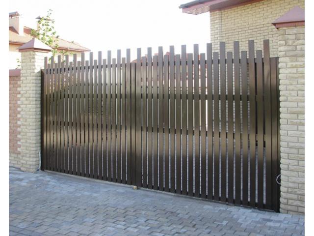 Откатные, распашные ворота, заборы