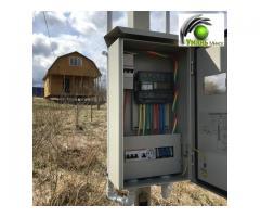 Проекты электроснабжения домов и коттеджей.