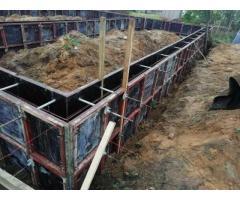 Свайно-ростверковый фундамент  +375(44)702-10-99