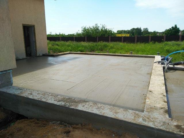 Фундамент для бани и гаражей .
