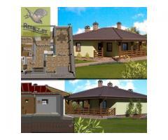Проектирование бань, саун, гостевых домов, хозблоков.